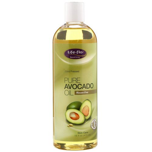 Life-flo, Pure Avocado Oil, Skin Care, 16 fl oz (473 ml) فوائد