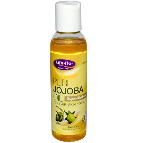 Life-flo, Pure Jojoba Oil, Skin Care, 4 oz (118 ml) فوائد