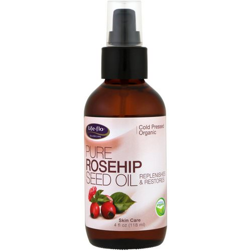 Life-flo, Pure Rosehip Seed Oil, Skin Care, 4 fl oz (118 ml) فوائد