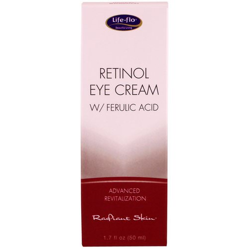 Life-flo, Retinol Eye Cream with Ferulic Acid, 1.7 fl oz (50 ml) فوائد