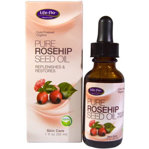 Life-flo, Pure Rosehip Seed Oil, Skin Care, 1 oz (30 ml) فوائد