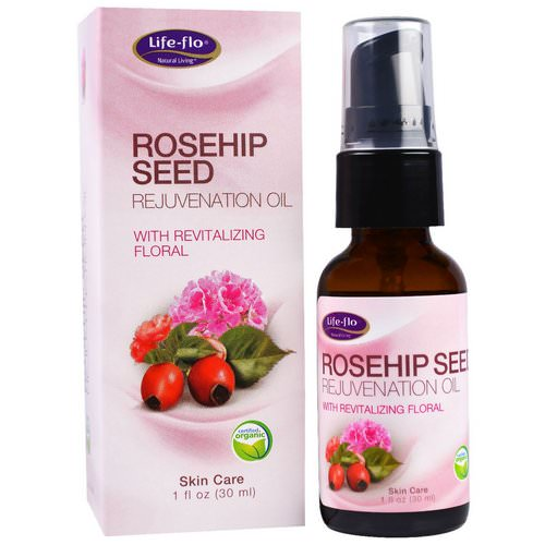 Life-flo, Rosehip Seed Rejuvenation Oil with Revitalizing Floral, 1 fl oz (30 ml) فوائد