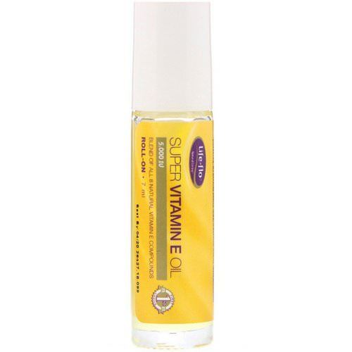 Life-flo, Super Vitamin E Oil, Roll-On, 5,000 IU, 7 ml فوائد