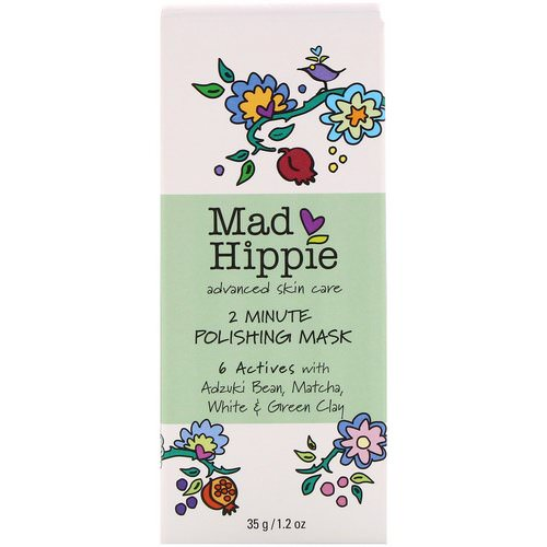 Mad Hippie Skin Care Products, 2 Minute Polishing Mask, 1.2 oz (35 g) فوائد