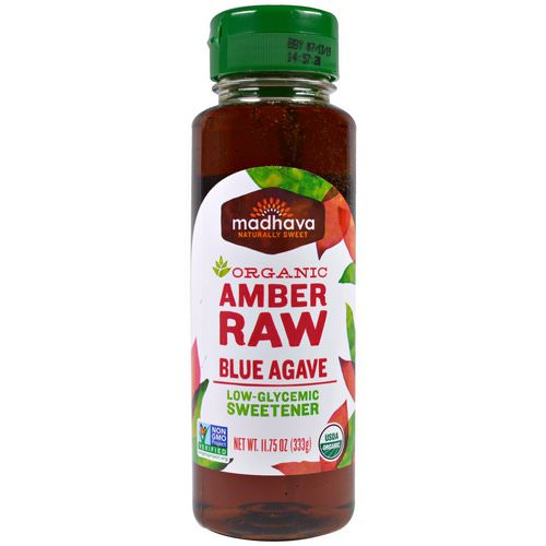 Madhava Natural Sweeteners, Organic Amber Raw Blue Agave, 11.75 oz (333 g) فوائد