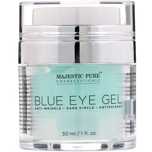 Majestic Pure, Blue Eye Gel, 1 fl oz (30 ml) فوائد