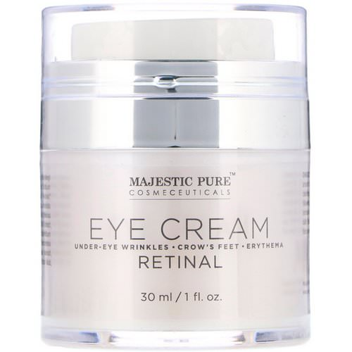 Majestic Pure, Eye Cream, Retinal, 1 fl oz (30 ml) فوائد