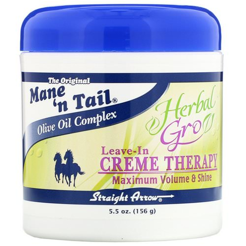 Mane 'n Tail, Herbal Gro, Leave-In Creme Therapy, 5.5 oz (156 g) فوائد