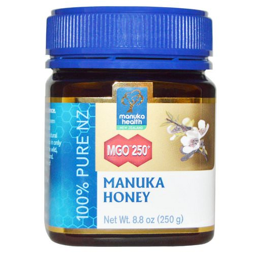Manuka Health, Manuka Honey, MGO 250+, 8.8 oz (250 g) فوائد