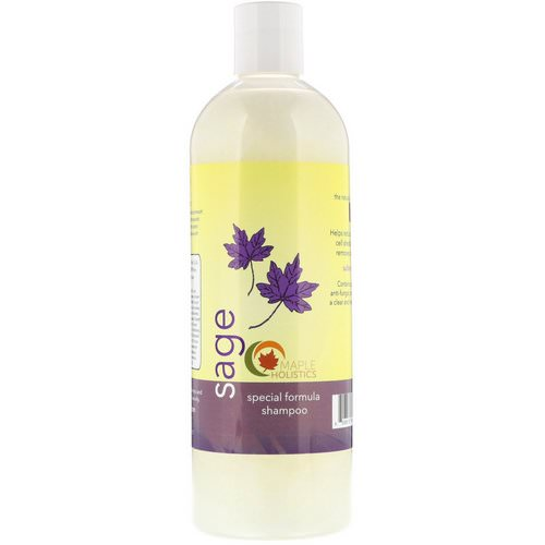 Maple Holistics, Sage, Special Formula Shampoo, 16 oz (473 ml) فوائد