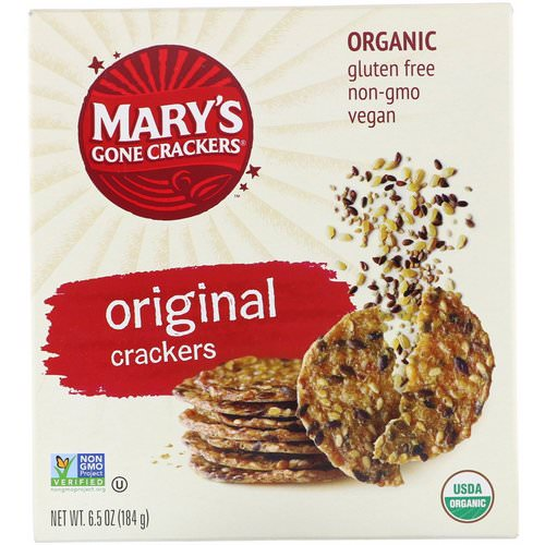 Mary's Gone Crackers, Original Crackers, 6.5 oz (184 g) فوائد