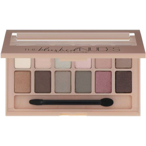 Maybelline, The Blushed Nudes Eyeshadow Palette, 0.34 oz (9.6 g) فوائد
