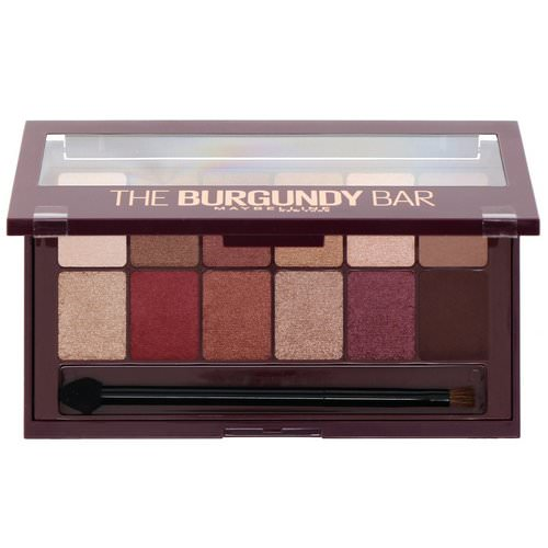 Maybelline, The Burgundy Bar Eyeshadow Palette 200, 0.33 oz (9.6 g) فوائد