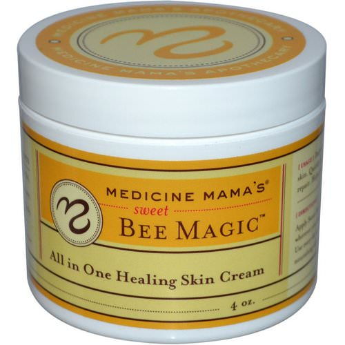 Medicine Mama's, Sweet Bee Magic, All In One Healing Skin Cream, 4 oz فوائد