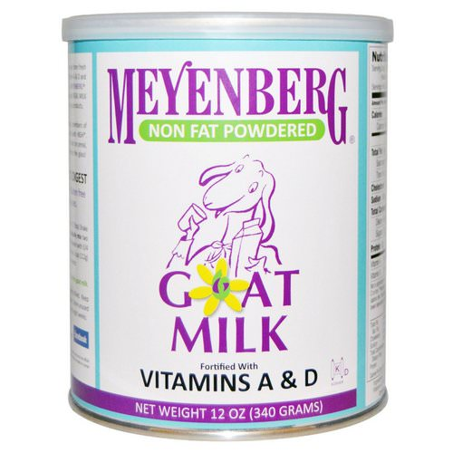 Meyenberg Goat Milk, Non Fat Powdered Goat Milk, 12 oz (340 g) فوائد