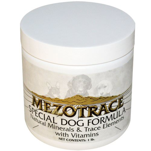 Mezotrace, Special Dog Formula, Natural Minerals & Trace Elements with Vitamins, 1 lb فوائد