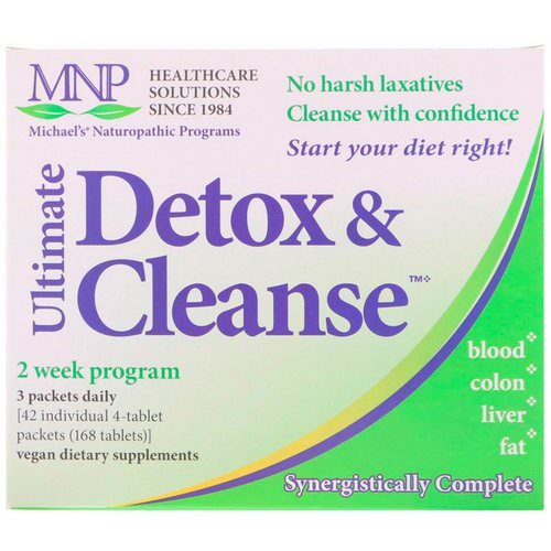 Michael's Naturopathic, Ultimate Detox & Cleanse, 42 Packets فوائد