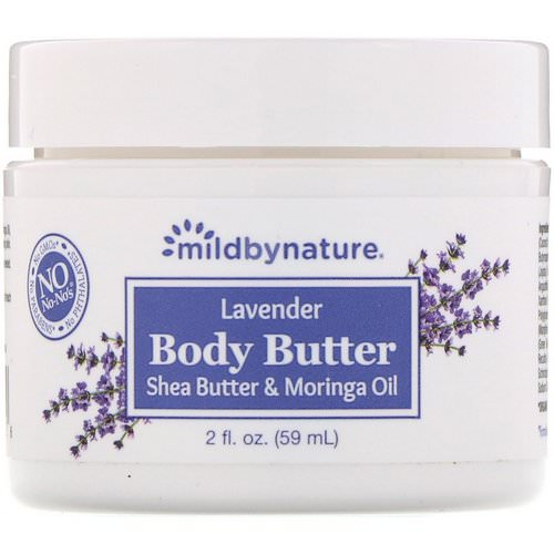 Mild By Nature, Lavender Body Butter, 2 fl oz (59 ml) فوائد