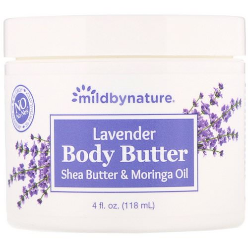 Mild By Nature, Lavender Body Butter, 4 fl oz (118 ml) فوائد