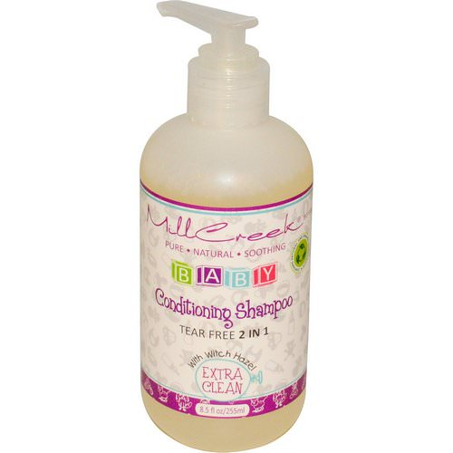 Mill Creek Botanicals, Baby Conditioning Shampoo, Extra Clean, 8.5 fl oz (255 ml) فوائد