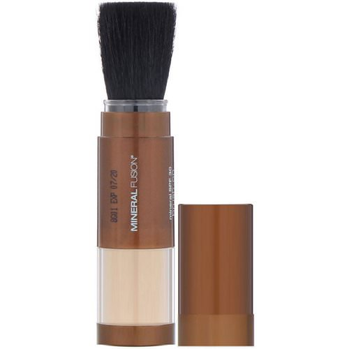 Mineral Fusion, Brush-On Sun Defense, Mineral SPF 30, 0.14 oz (4.0 g) فوائد
