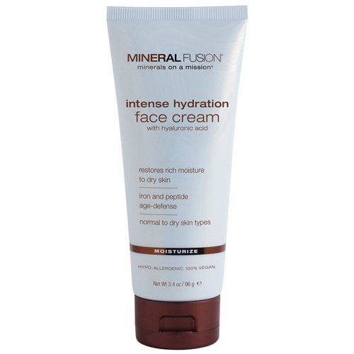 Mineral Fusion, Intense Hydration Face Cream, Moisturize, 3.4 oz (96 g) فوائد