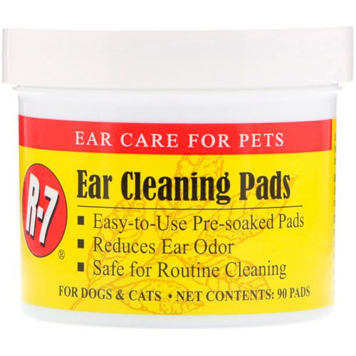 Miracle Care, Ear Cleaning Pads, For Dogs & Cats, 90 Pads فوائد