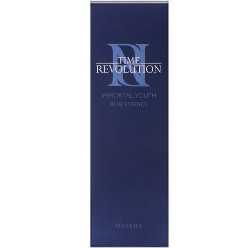 Missha, Time Revolution, Immortal Youth Blue Essence, 80 ml فوائد