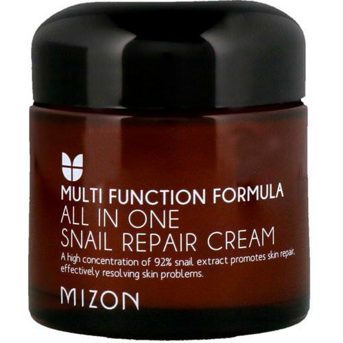 Mizon, All In One Snail Repair Cream, 2.53 oz (75 ml) فوائد