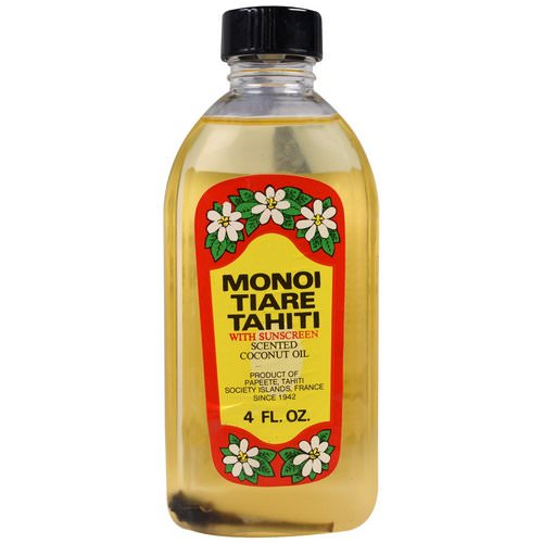 Monoi Tiare Tahiti, Sun Tan Oil With Sunscreen, 4 fl oz (120 ml) فوائد