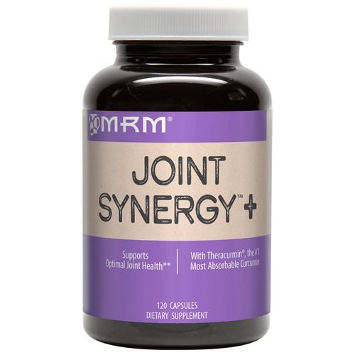 MRM, Joint Synergy +, 120 Capsules فوائد