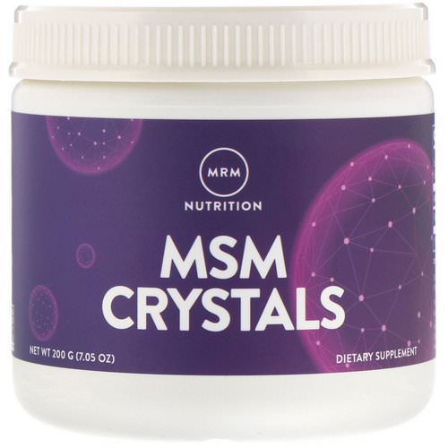 MRM, MSM Crystals, 1,000 mg, 7.05 oz (200 g) فوائد