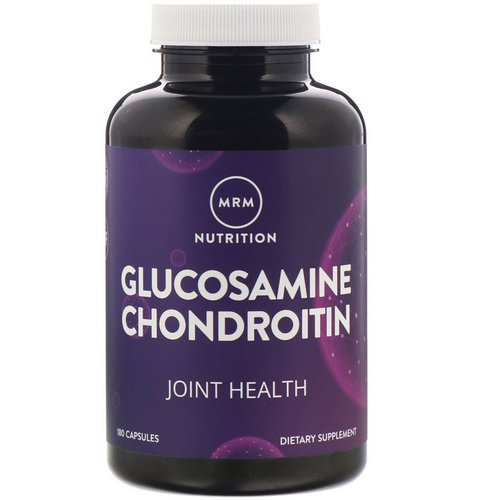 MRM, Nutrition, Glucosamine Chondroitin, 180 Capsules فوائد