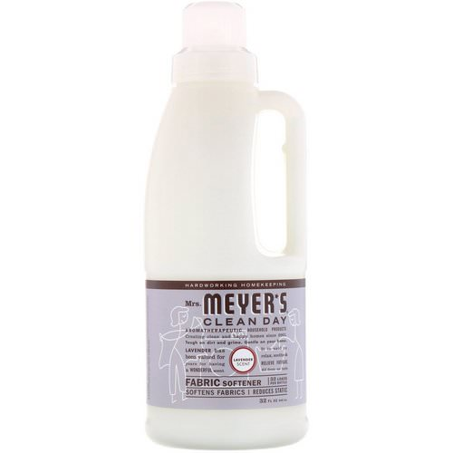 Mrs. Meyers Clean Day, Fabric Softener, Lavender Scent, 32 fl oz (946 ml) فوائد