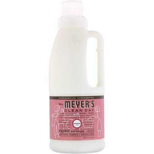 Mrs. Meyers Clean Day, Fabric Softener, Rosemary Scent, 32 fl oz (946 ml) فوائد