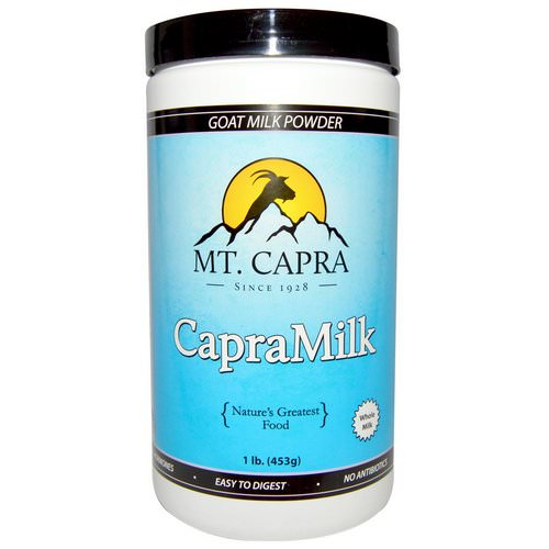 Mt. Capra, CapraMilk, Goat Milk Powder, 1 lb (453 g) فوائد