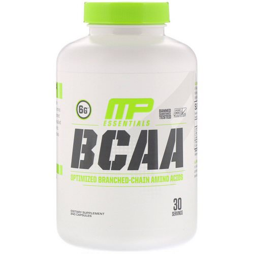 MusclePharm, BCAA Essentials, 240 Capsules فوائد
