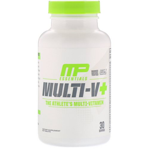 MusclePharm, Essentials, Multi-V+, The Athlete's Multi-Vitamin, 60 Tablets فوائد