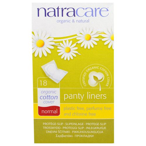 Natracare, Organic & Natural Panty Liners, Normal, 18 Panty Liners فوائد