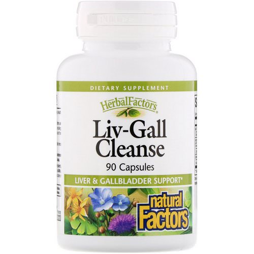 Natural Factors, Liv-Gall Cleanse, 90 Capsules فوائد