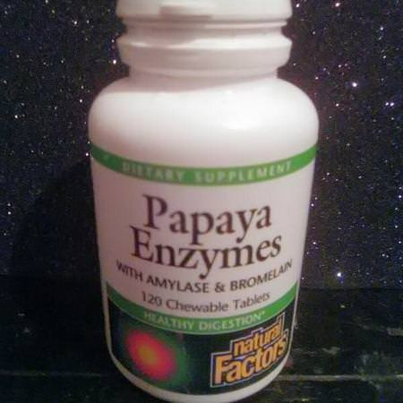 Digestive Enzymes, Papaya