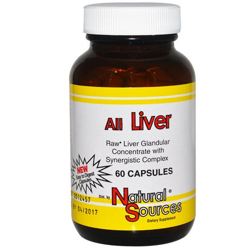 Natural Sources, All Liver, 60 Capsules فوائد