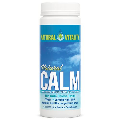Natural Vitality, Natural Calm, The Anti-Stress Drink, Original (Unflavored), 8 oz (226 g) فوائد
