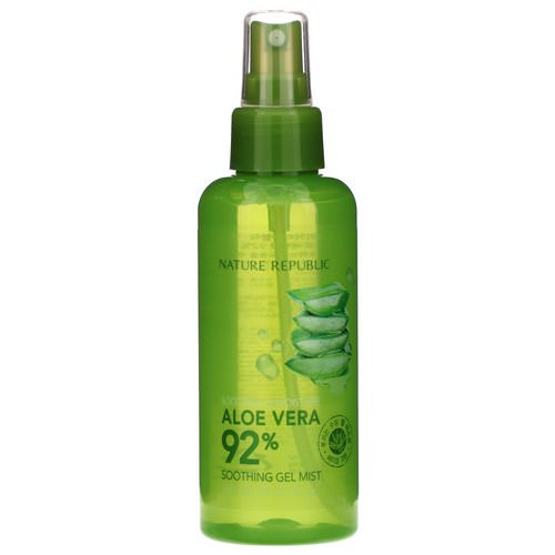 Nature Republic, Aloe Vera Soothing Gel Mist, 5.07 fl oz (150 ml) فوائد