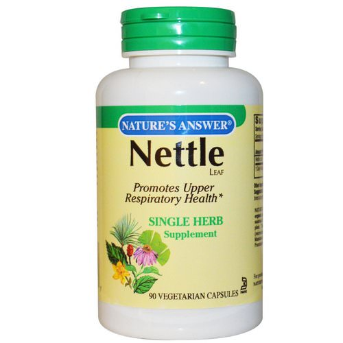 Nature's Answer, Nettle, 900 mg, 90 Vegetarian Capsules فوائد