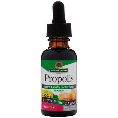 Nature's Answer, Propolis, 2,000 mg, 1 fl oz (30 ml) فوائد