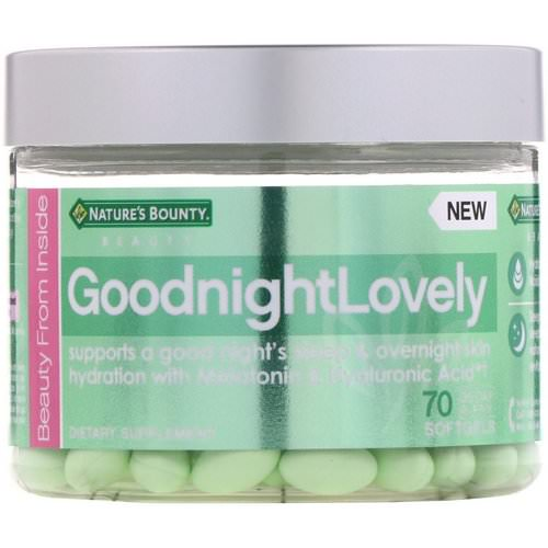 Nature's Bounty, GoodnightLovely, 70 Softgels فوائد