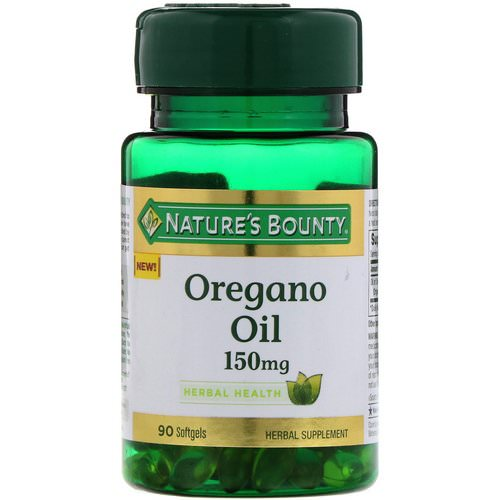 Nature's Bounty, Oregano Oil, 150 mg, 90 Softgels فوائد