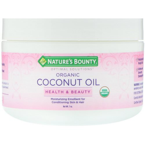 Nature's Bounty, Organic Coconut Oil, 7 oz فوائد