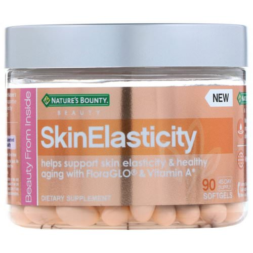 Nature's Bounty, SkinElasticity, 90 Softgels فوائد